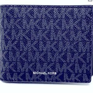 NIB Michael Kors Men's Cooper Billfold Wallet NIB
